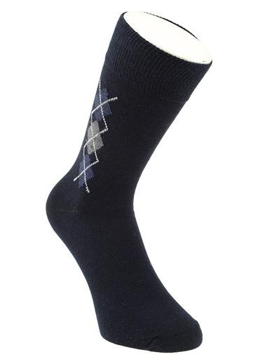 Kiğılı 3'lü Çorap Renkli